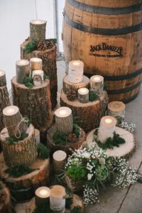 log-slice-centerpiece